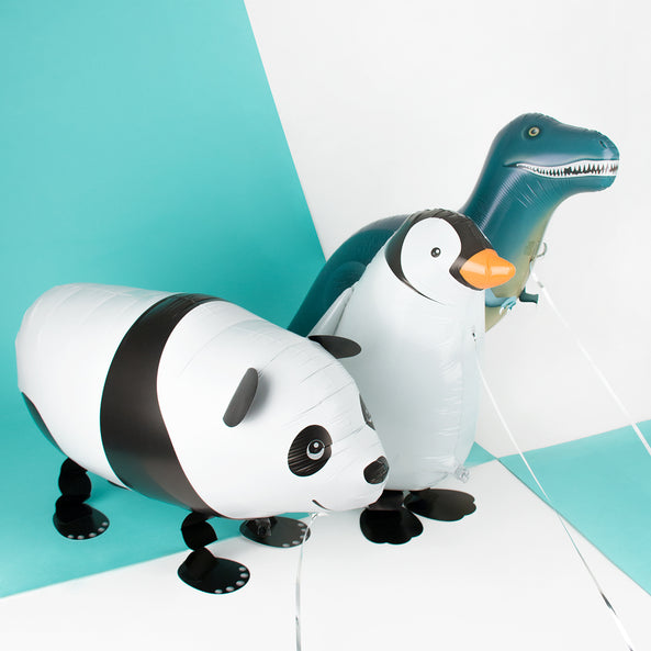 Foil walking balloon -  Panda