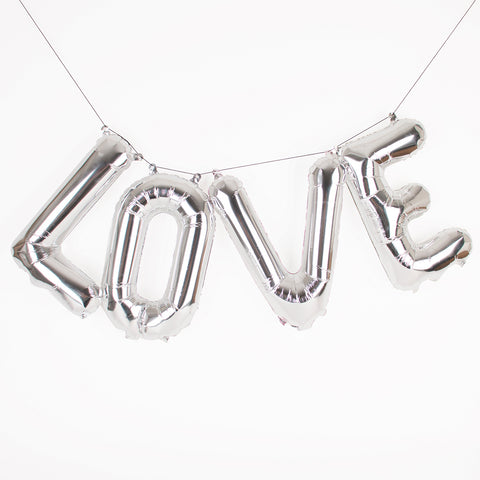 Foil balloon kit - Love