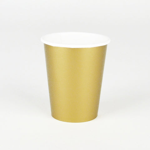 8 cups - Gold