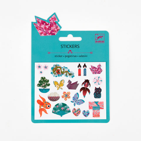 Japanese designs stickers - Djeco