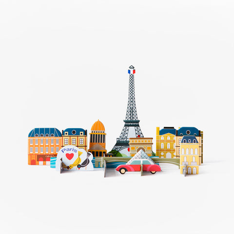 3D city construction kit - Paris