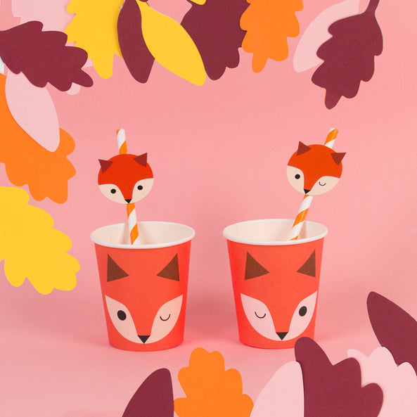 8 cups - Mini fox