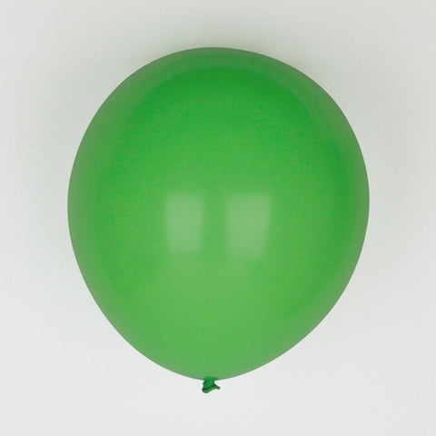 10 balloons - Dark green