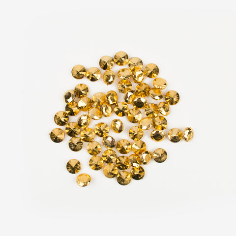 Confetti - Mini gold diamonds