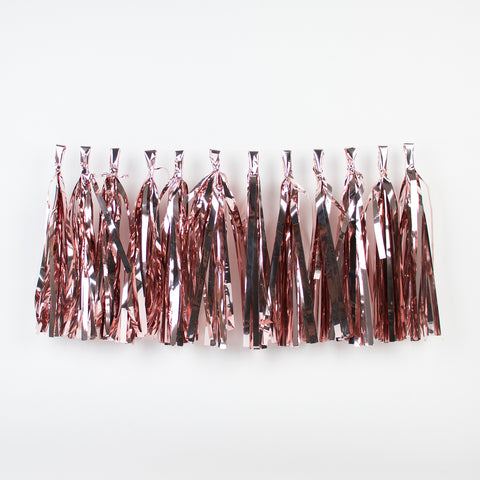 Tassel garland kit - Pink gold