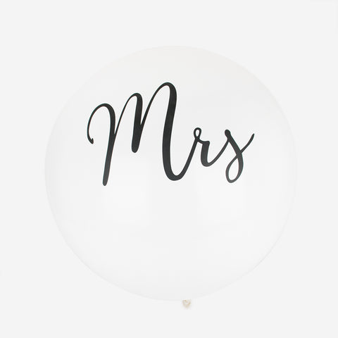 Balloon - Mrs