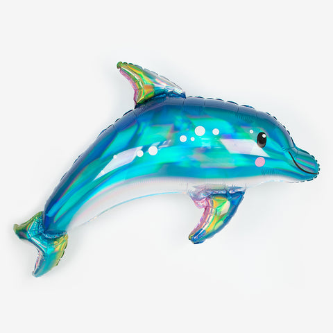 Foil balloon - Holographic dolphin