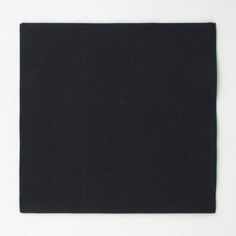 20 napkins - Black