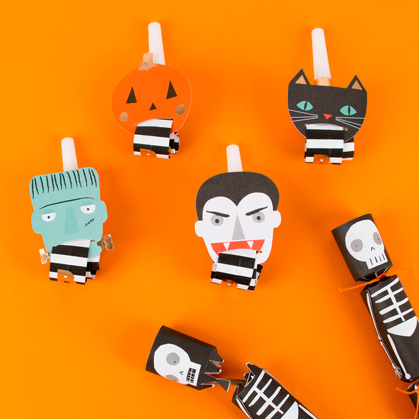 XX-4 party blowers - Halloween
