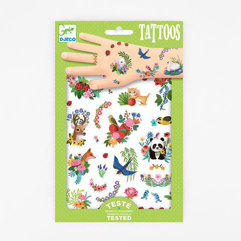 2 sheets of tattoos - Happy Spring