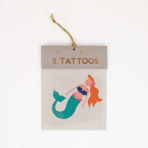 2 tattoos - Mermaid