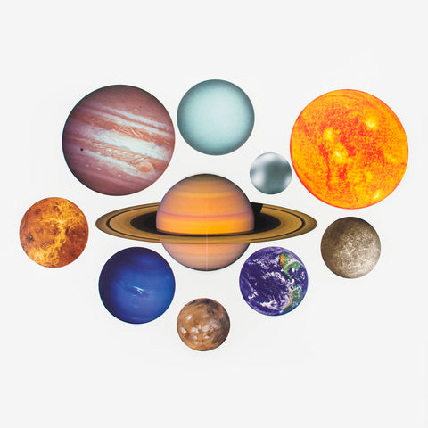 Set of 10 Cutouts - Solar System