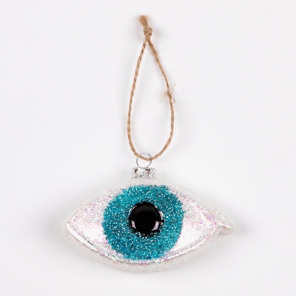 1 small Christmas decoration - Shimmery eye