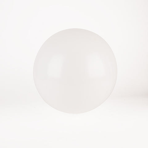Round balloon - White
