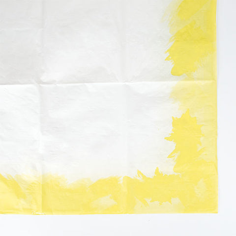 Tablecloth - White & yellow
