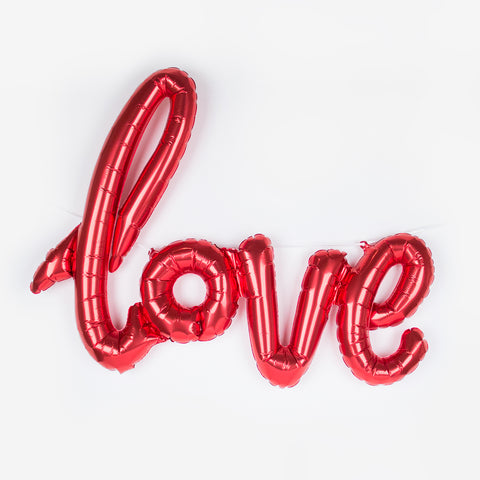 Balloon - Love - Red