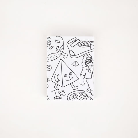 Small sketch notebook - Black & White