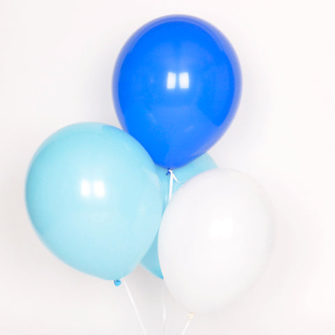 Assorted balloons - Blue