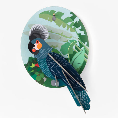 3D wall decoration - parrot