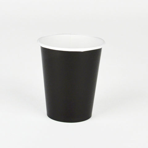 8 cups - Black