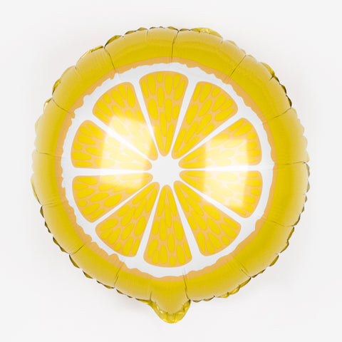 Foil balloon - Lemon slice