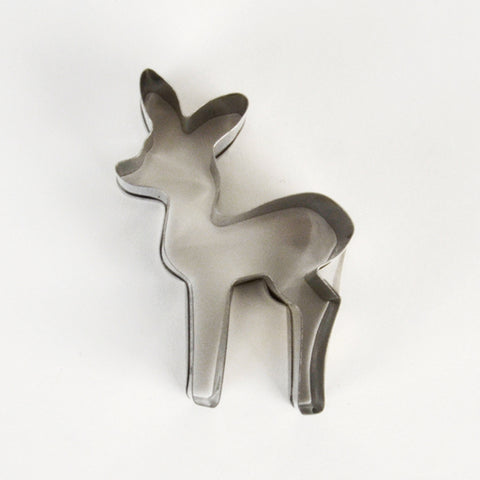 Fawn cookie cutter