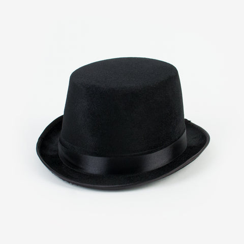 Adult top hat - black
