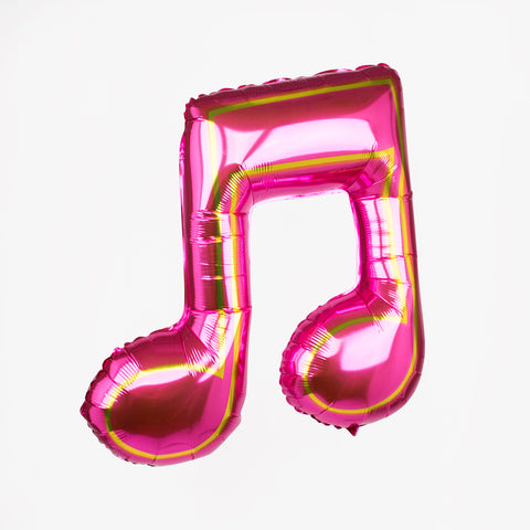 Foil balloon - Music note