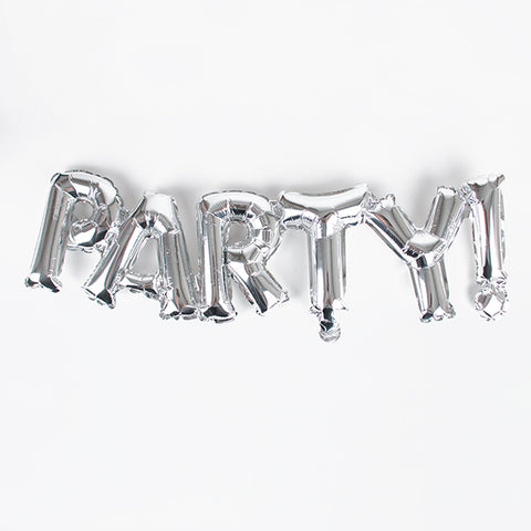 Foil balloons - Party - Silver