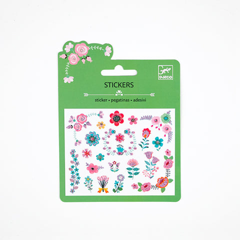 Djeco - mini flower stickers