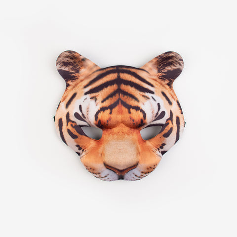1 woven mask - Tiger