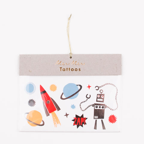 2 tattoo sheets - Robot