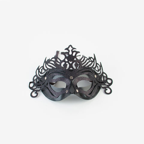 1 Mask with ornament - Black