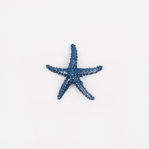 1 sticker - Blue Starfish