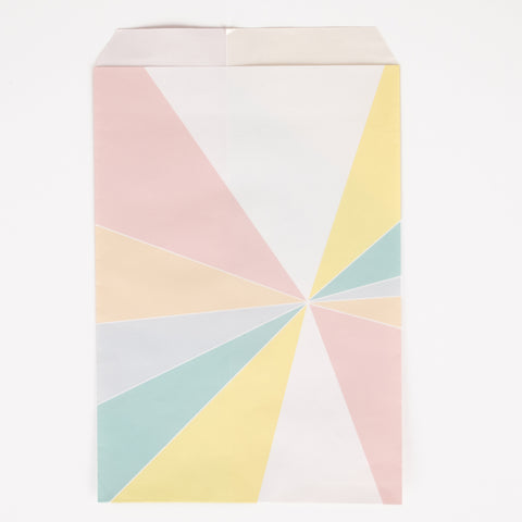 10 party bags - Pastel