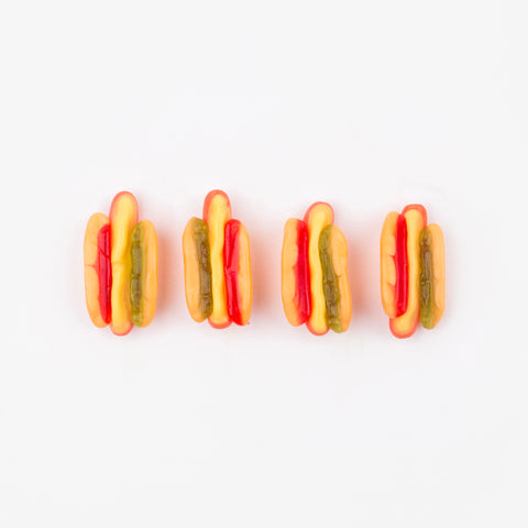 1 bag candy - Mini hot-dogs