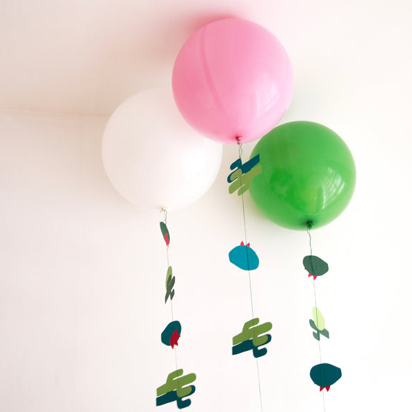 Round balloon - Green