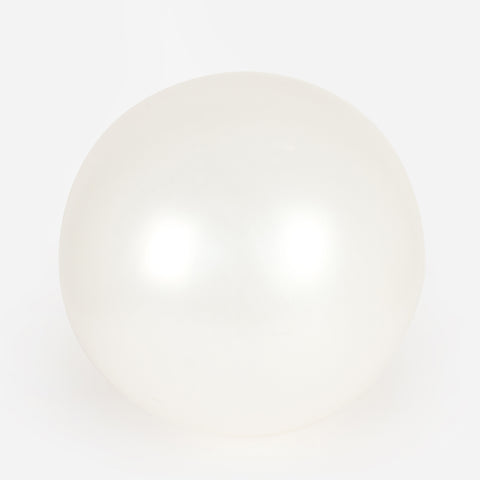1 giant balloon - Pearl white