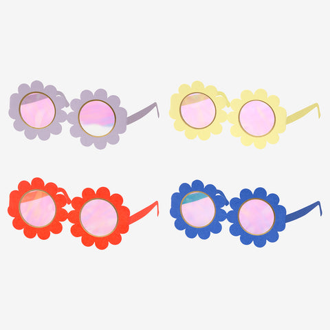 12 pairs of glasses - Flower