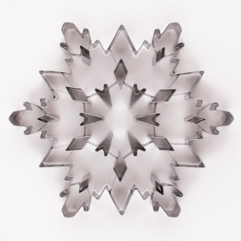 1 large Snowflake Cookie Cutter