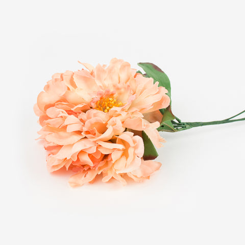 Bouquet of 3 peonies - Peach