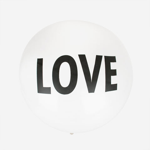 Giant 1m LOVE balloon
