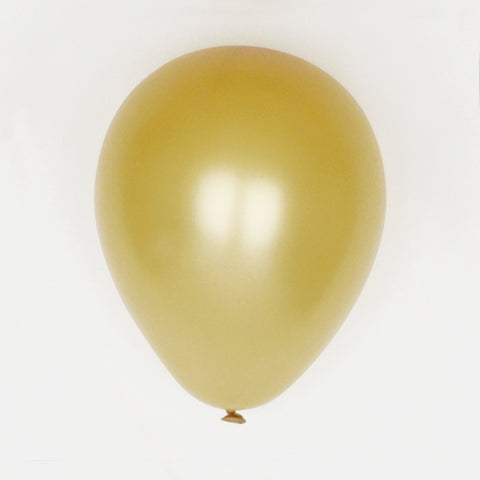 10 balloons - Gold