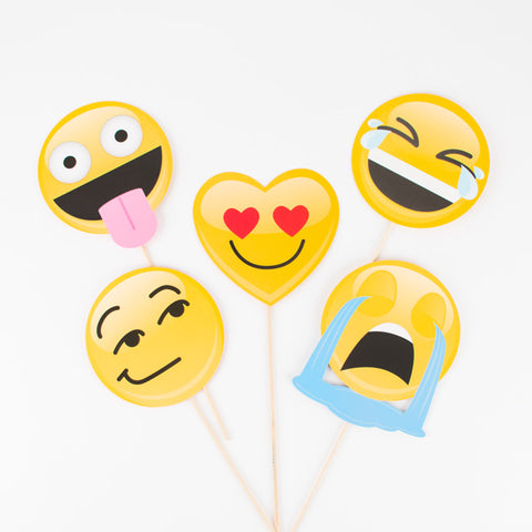 Photobooth kit - Emoji