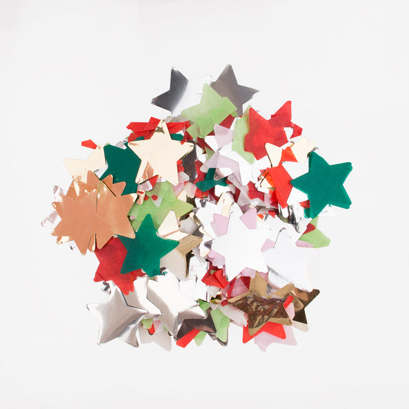 Confetti - Multicoloured stars