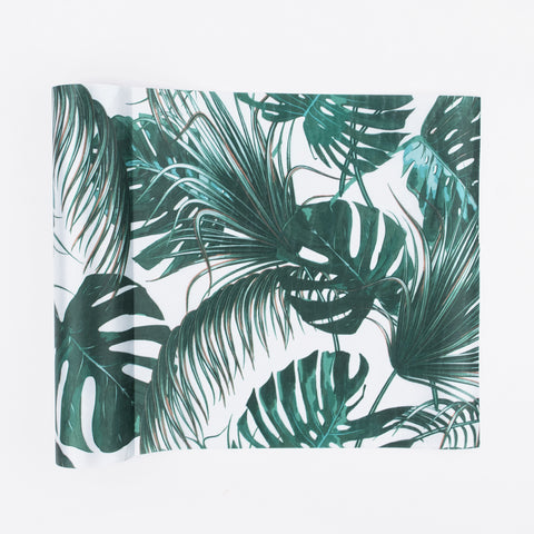 1 table runner - Tropical satin