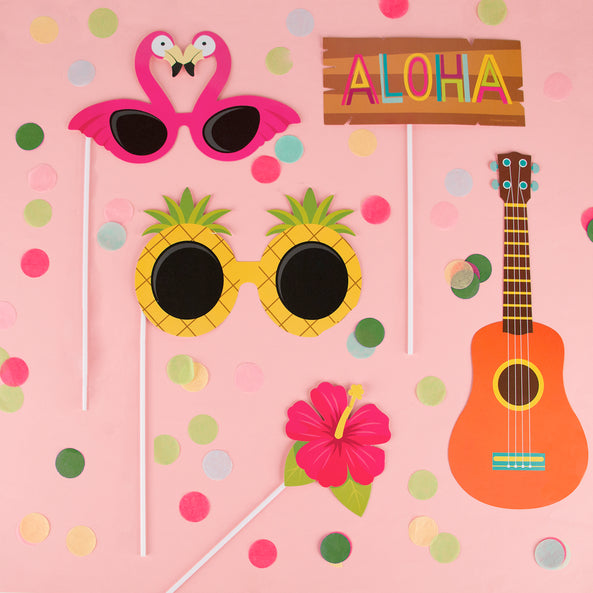 Photobooth kit - Tropical