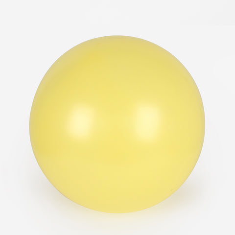 1 giant balloon - Pearl yellow