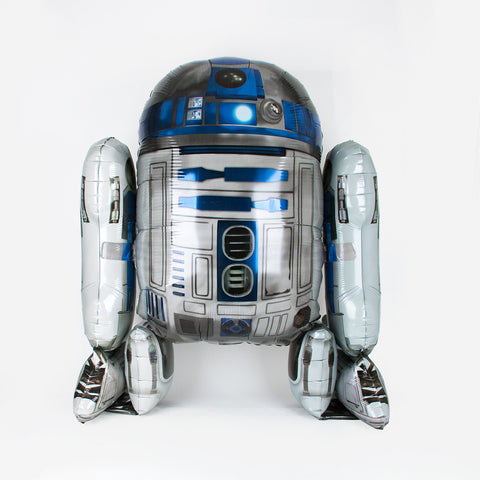 1 foil balloon - R2-D2 - Star Wars