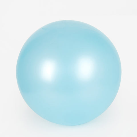 1 giant balloon - Pearl light blue